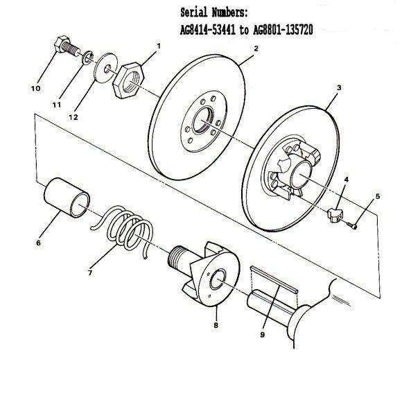 Ez Go Driven Clutch Parts Diagram